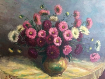 Still Life - Vase of Flowers