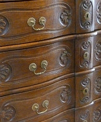 Stunning 18th Century Oak Commode