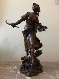 Summer - French 19th Century Sculpture