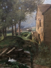 The Mill - 19th Century oil Painting