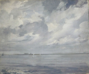 The Schelde - Antique Marine Painting
