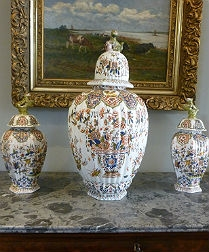 Three French Vases