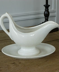 Unusual French Sauce Boat
