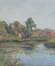 View of a Village - circa 1870