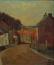 Village View - J Eugene (1937)