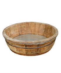 Vintage Wooden Basket